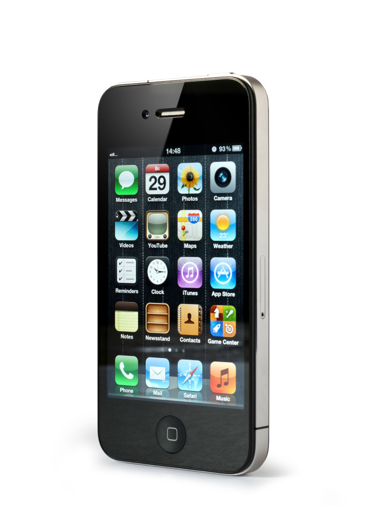 iPhone submitted for forensics examination.
